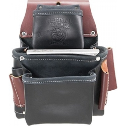 B5060 3 Pouch Pro Fastener Bag  occidental leather, tool belt, leather tool belts, toolbelts, tool belt