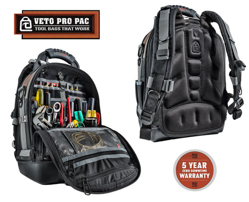 Veto Tech Pac Tool Backpack